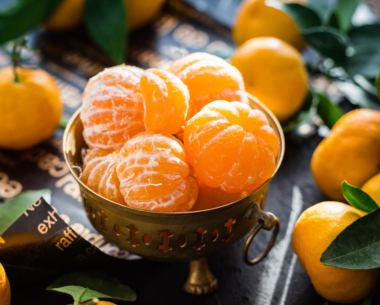 clementine regime micronutriments