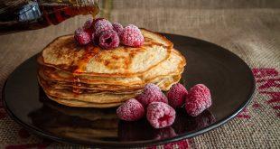 pancakes avec fruits
