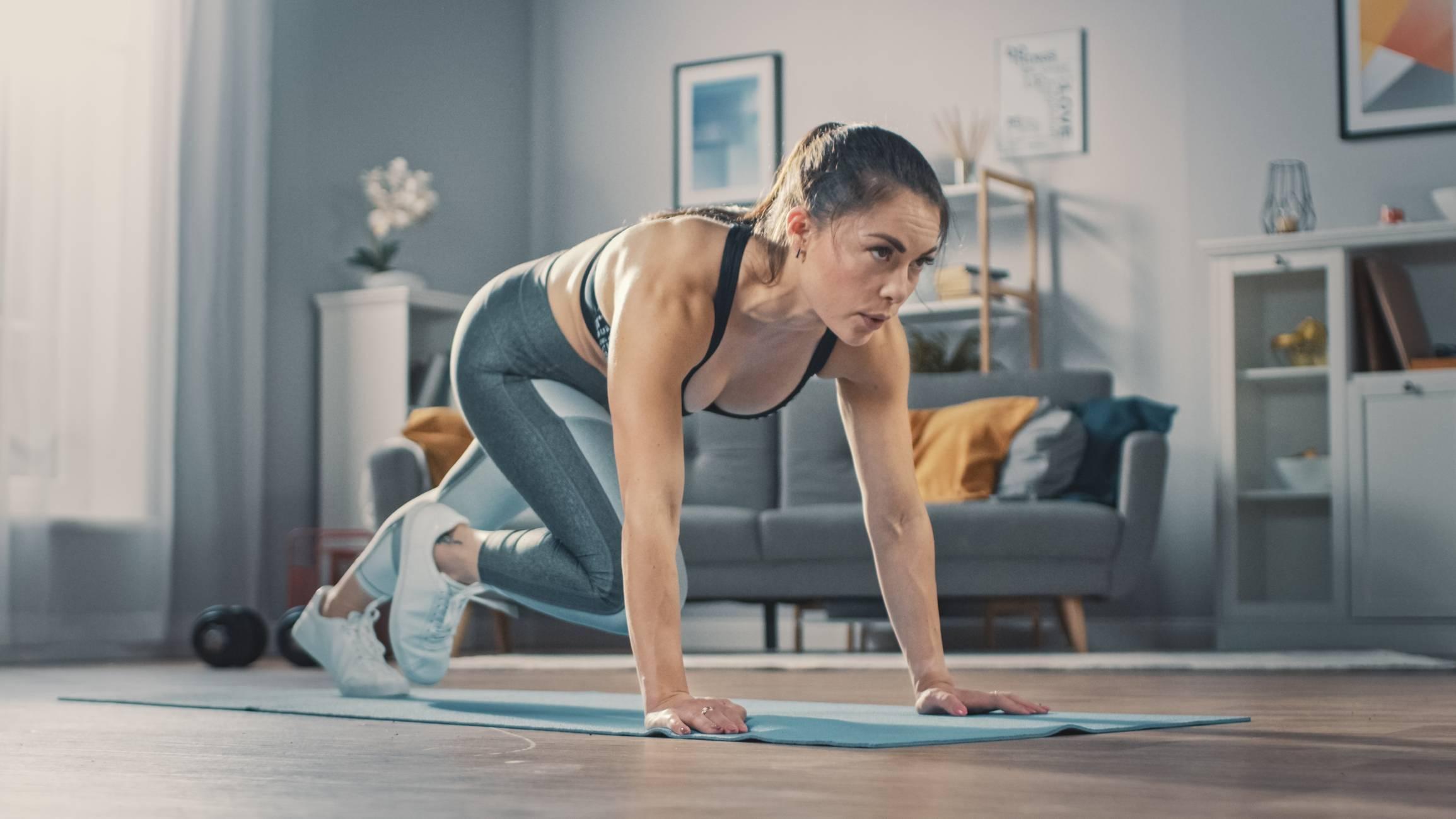 Fitness à domicile coach sportif